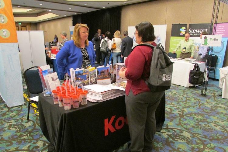 Nearly 30 vendors had displays at TACUP 2015.