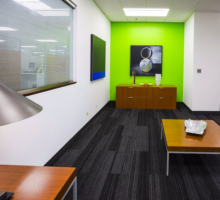 SG360º corporate office renovation Wheeling, IL