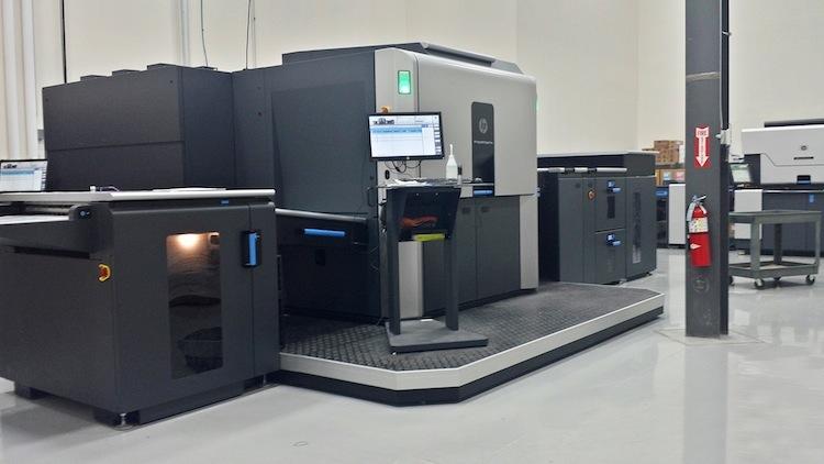 Dreamworks HP Indigo 10000 digital press.