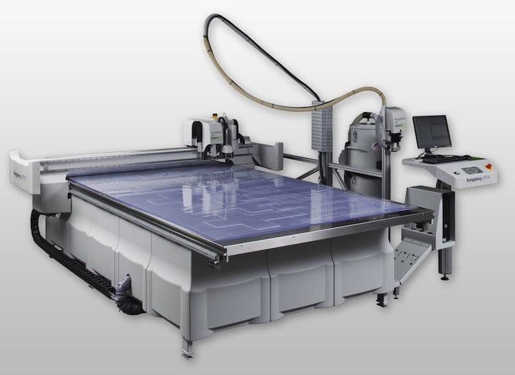 Kongsberg XP24 Automatic Digital finishing system from Esko .