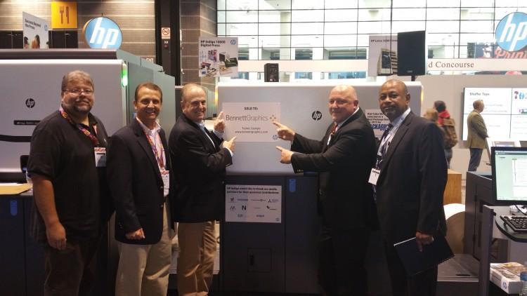 Bennett Graphics has bought an HP Indigo WS6800 digital press.