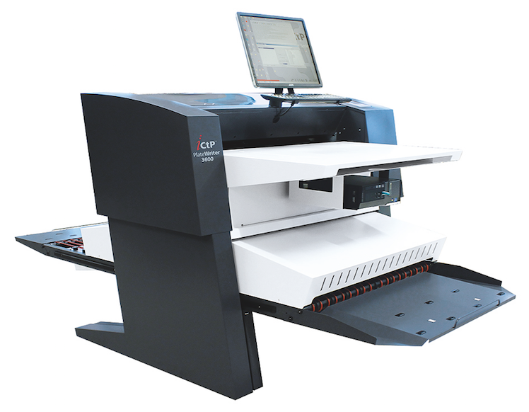 Glunz & Jensen Launches iCtP PlateWriter 3600 Pro