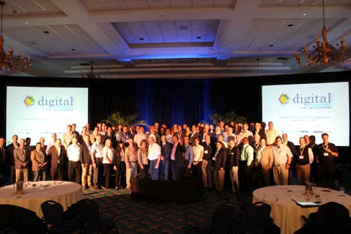 All attendees of the debut Digital Packaging Summit.
