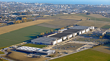 BOBST consolidated its two production facilities in the Lausanne area into a single one.