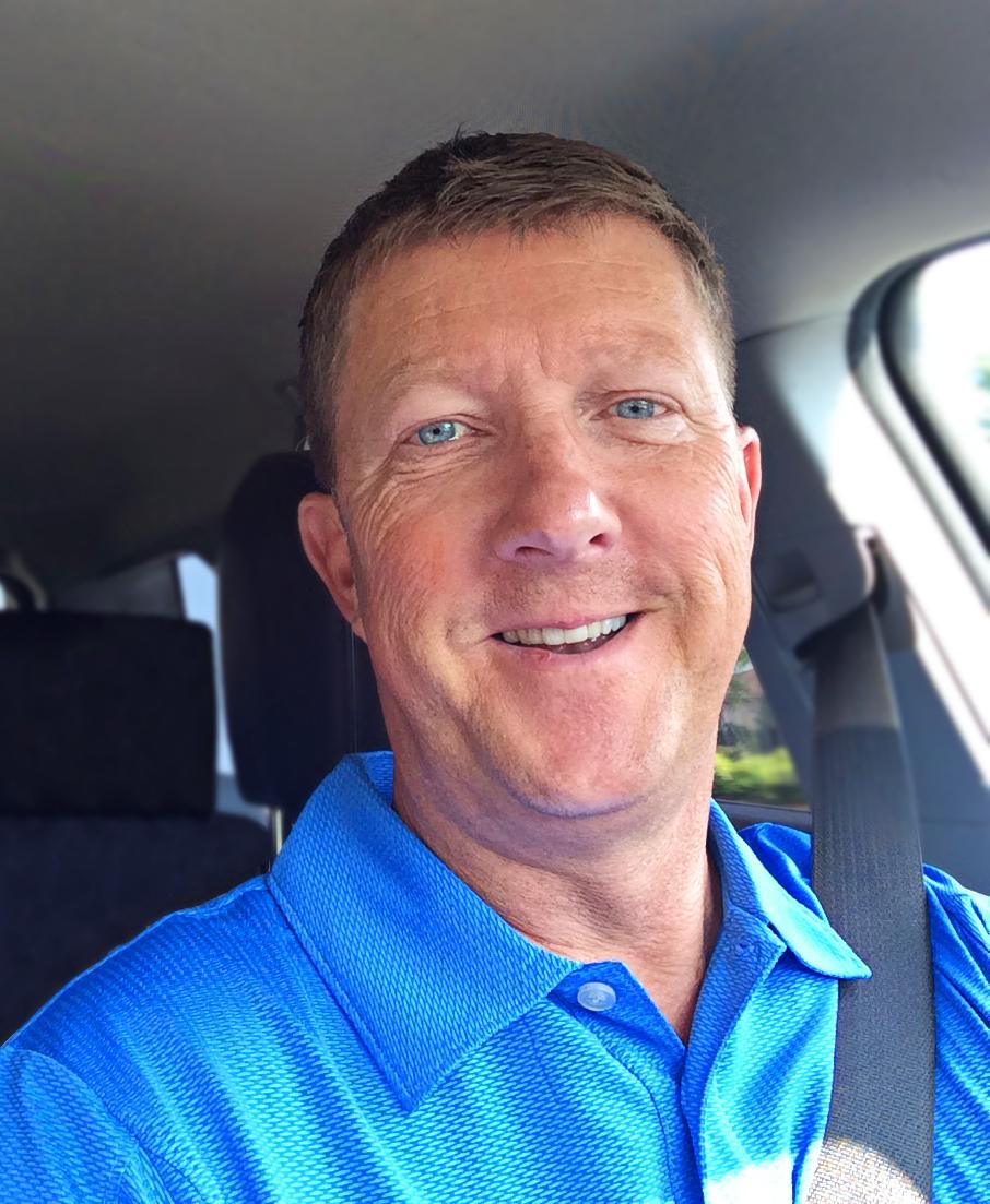 Tobin James, multi-line sales representative for Stromberg Brand Umbrellas