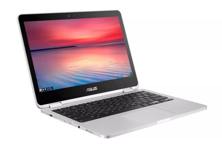 Asus is including a USB-C port in one of its new laptop products. (Image via The Verge)