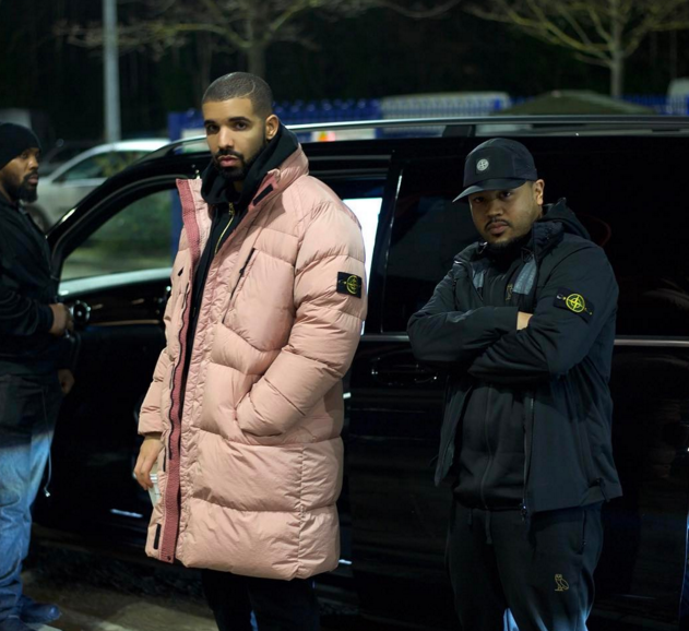 Even Drake is getting in on the millennial pink trend. (Image via Instagram)