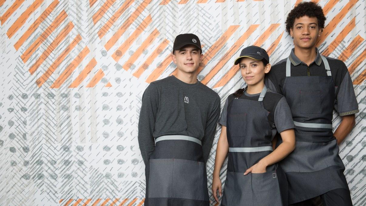 new McDonald's uniforms