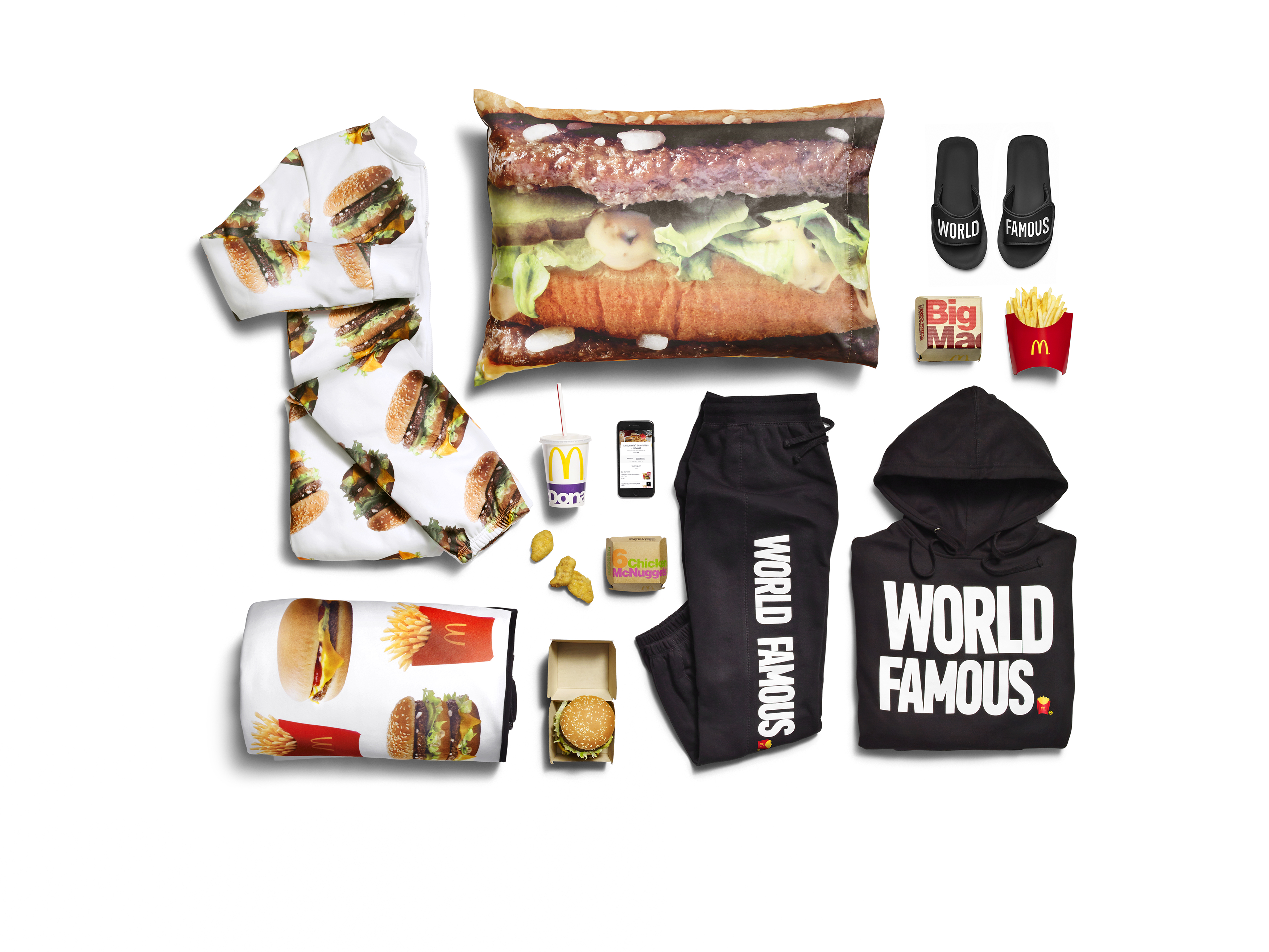 McDonald\'s Teams Up with UberEATS for Food-Inspired Apparel