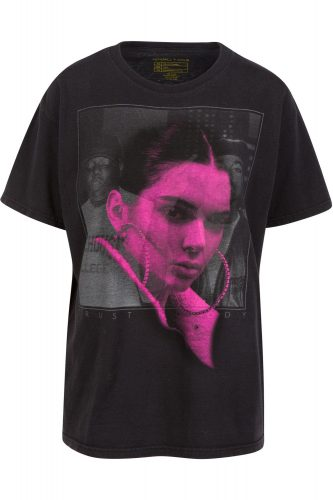 Kendall and Kylie Jenner Notorious B.I.G. T-shirts