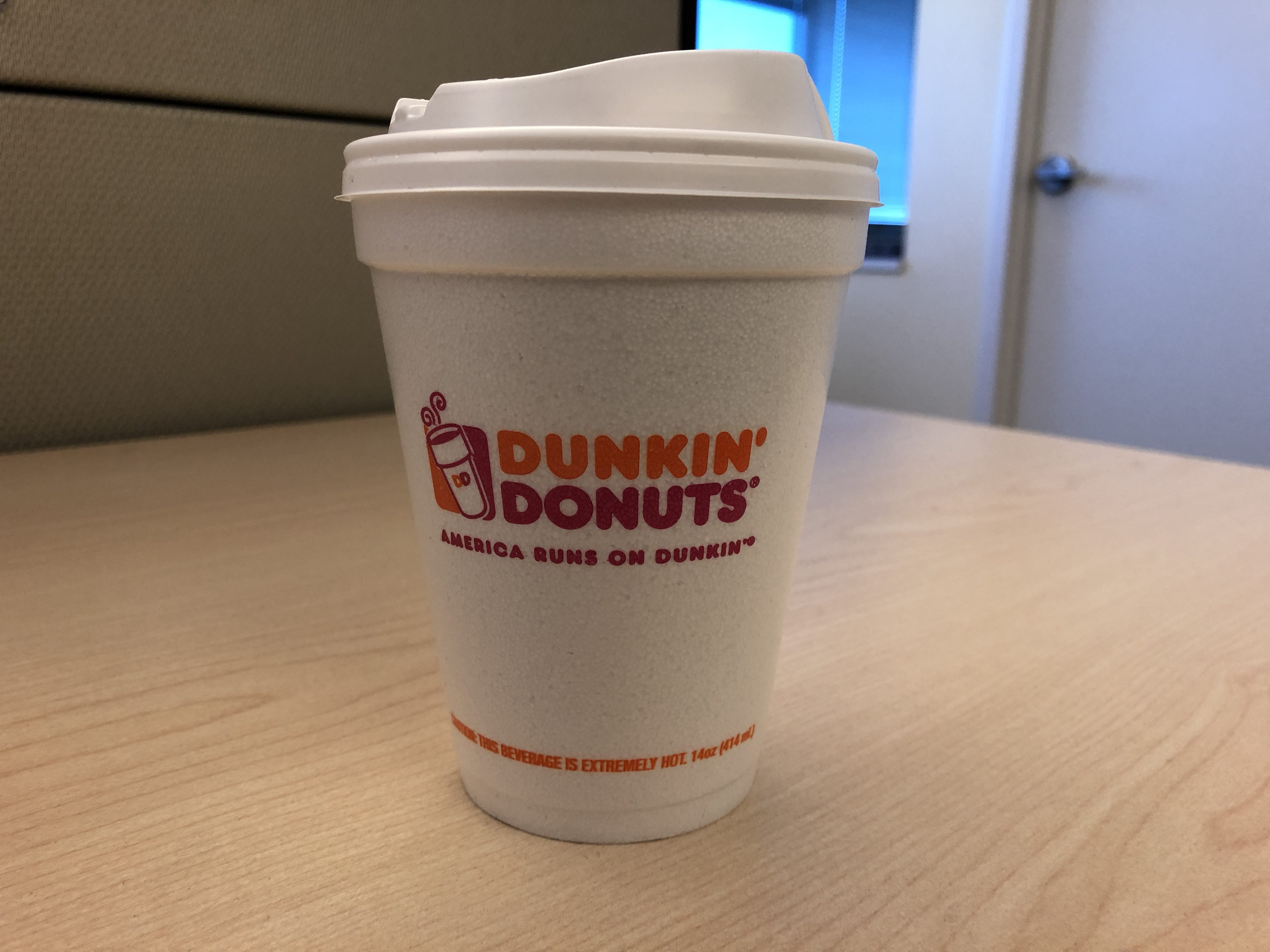 Styrofoam Cup Dunkin : Dunkin donuts will phase out styrofoam cups by
