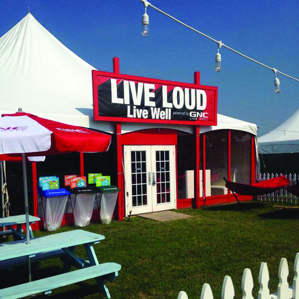 Live Well tent