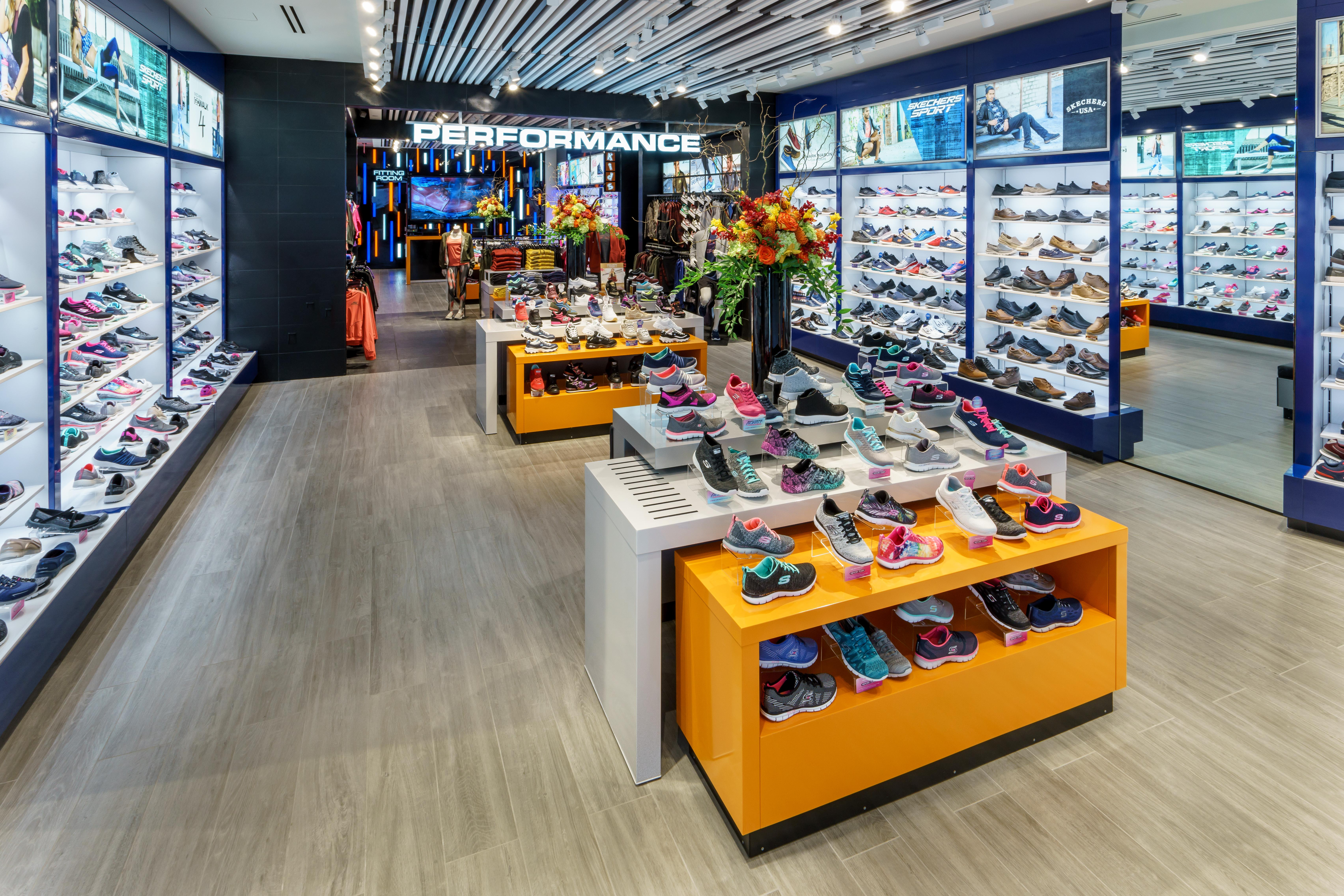 A look inside SKECHERS new flagship store at One World Trade Center in New  York City f6ee3dc26